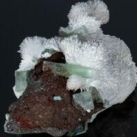 mezolit, stilbit, fluorapofillit