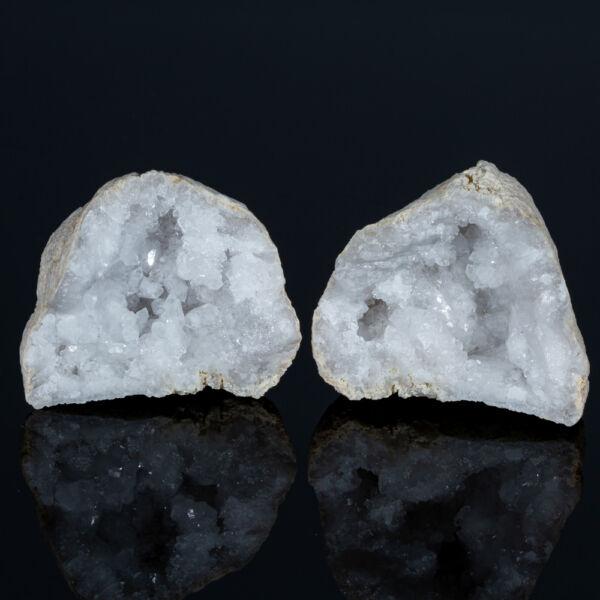 hegyikristály geóda pár